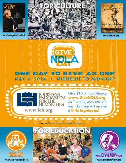 GiveNOLA Day Poster